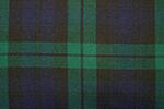 Black Watch Tartan Pure 16oz wool woven in Scotland