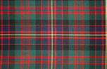 Cameron of Erracht Tartan Pure 16oz wool woven in Great Britain