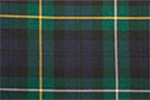 Campbell of Argyle Tartan Pure 16oz wool woven in Great Britain