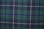 Douglas Tartan Pure 16oz wool woven in Great Britain