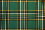 Irish National Tartan Pure 13oz wool woven in Scotland