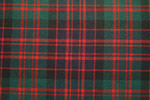 MacDonald Tartan Pure 16oz wool woven in Great Britain
