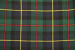 MacLeod of Harris Tartan Pure 16oz wool woven in Scotland