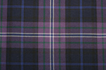 Scotland Forever Tartan Pure 16oz wool woven in Scotland