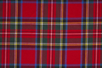 Stewart Royal Tartan Pure 16oz wool woven in Scotland