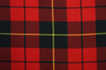 Wallace Tartan Pure 16oz wool woven in Scotland