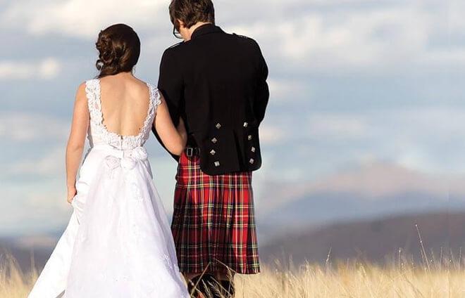 Kilt Wedding