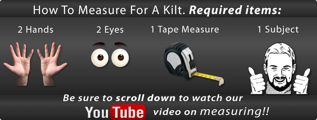 How to Measure for a Kilt